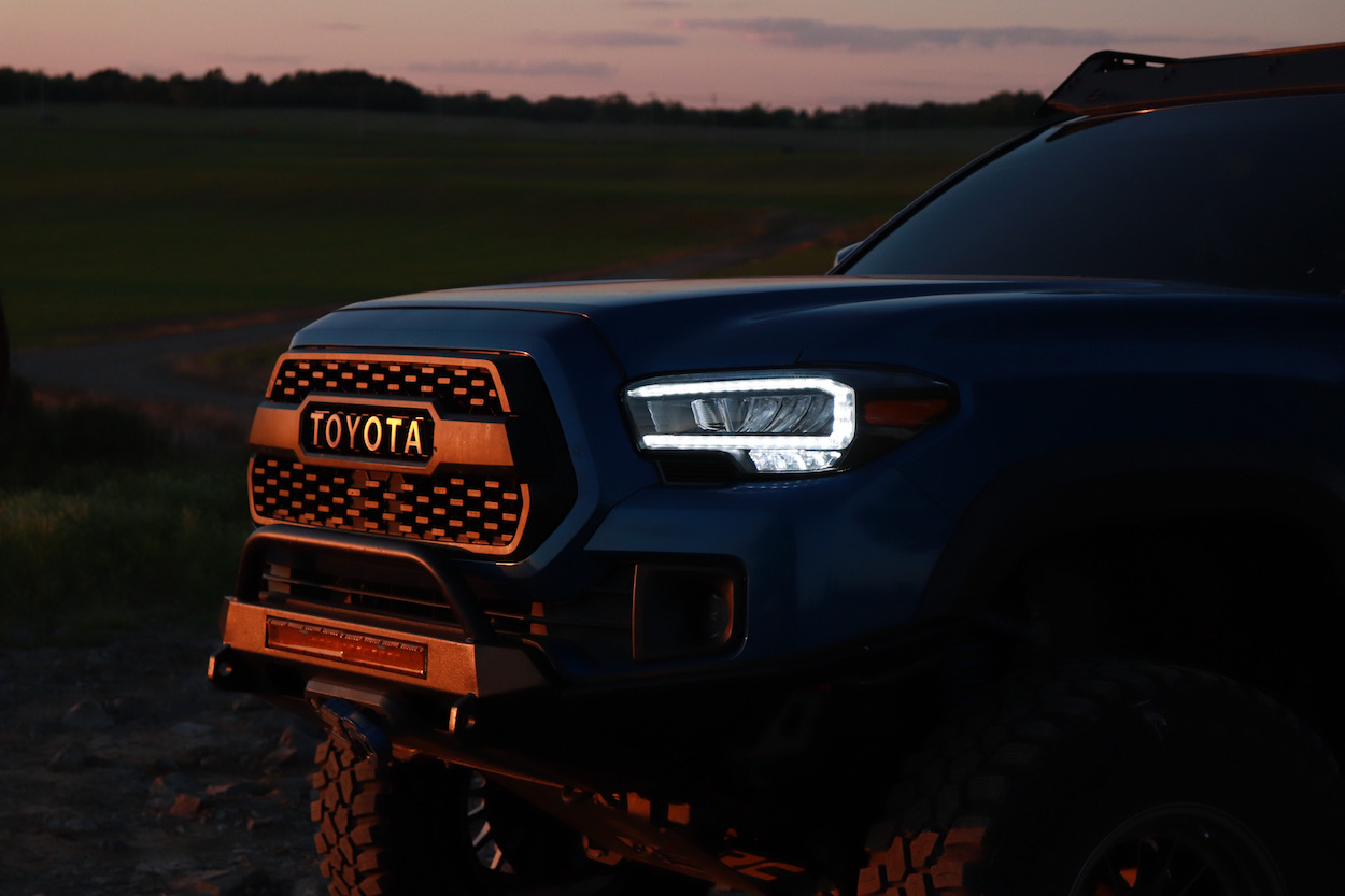AlphaRex TRD Replica Aftermarket Headlights for Toyota Tacoma from TacomaBeast