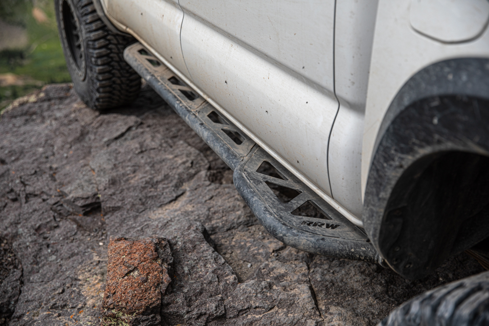 Relations Race Wheels DOM Rock Sliders - Strongest Rock Slider for Toyota Tacoma