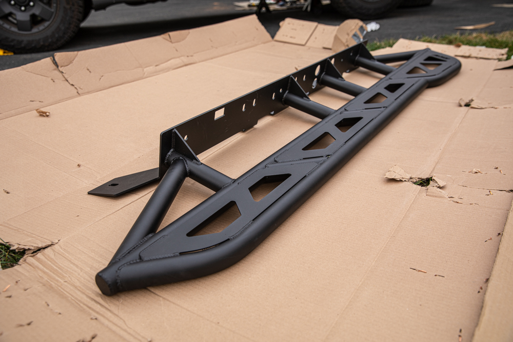 Bolt-On DOM Rock Sliders for Toyota Tacoma
