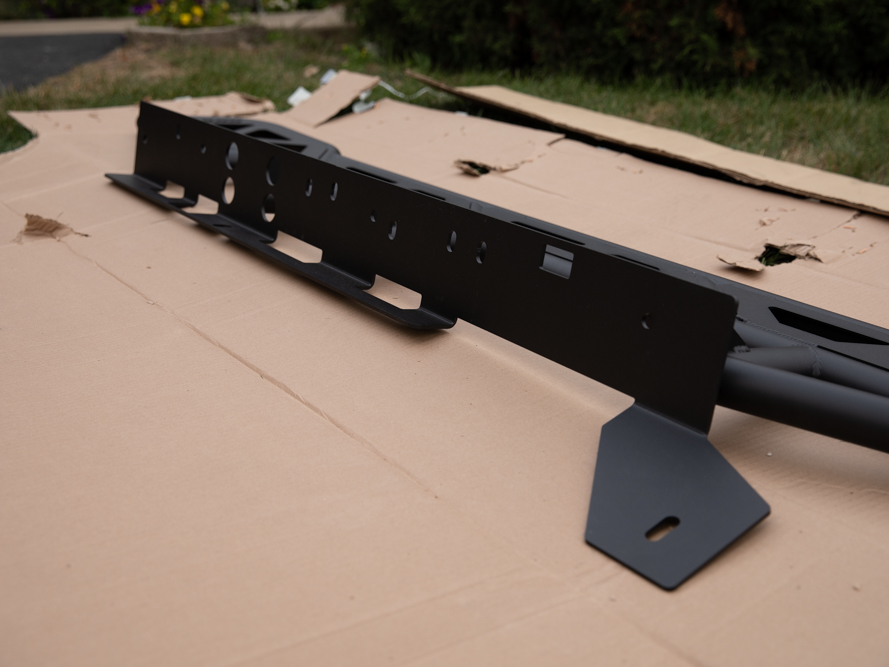 """RRW One Piece 3/16"""" Rock Slider Mounting Plate"""
