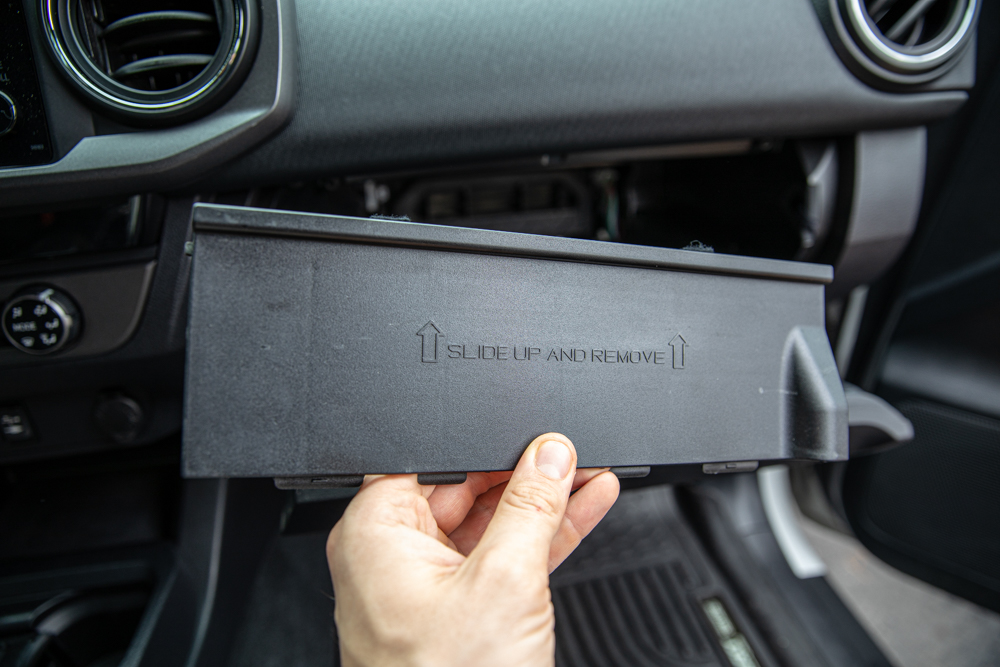 How to Access Cabin Air Filter in 3rd Gen Toyota Tacoma