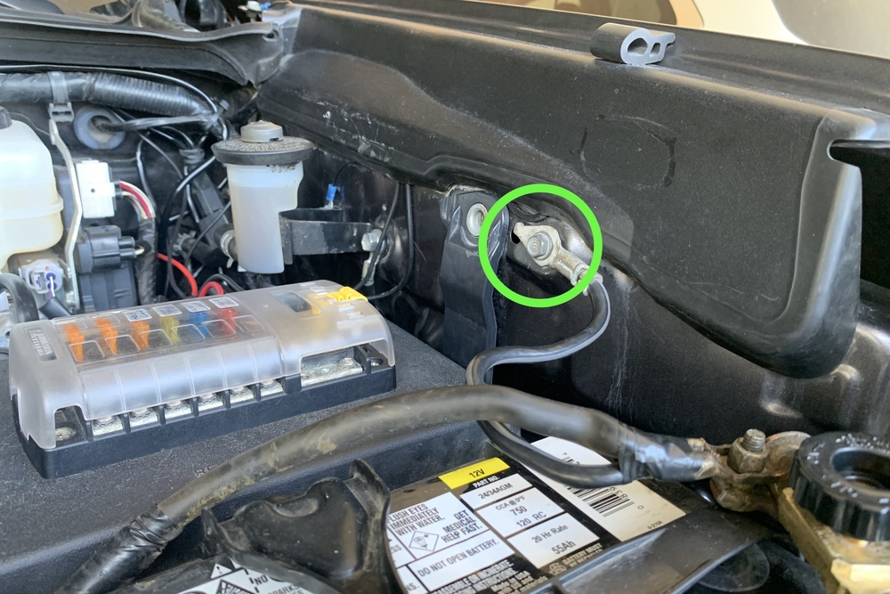 Installing Gas Powered Hood Struts for 3rd Gen Tacoma