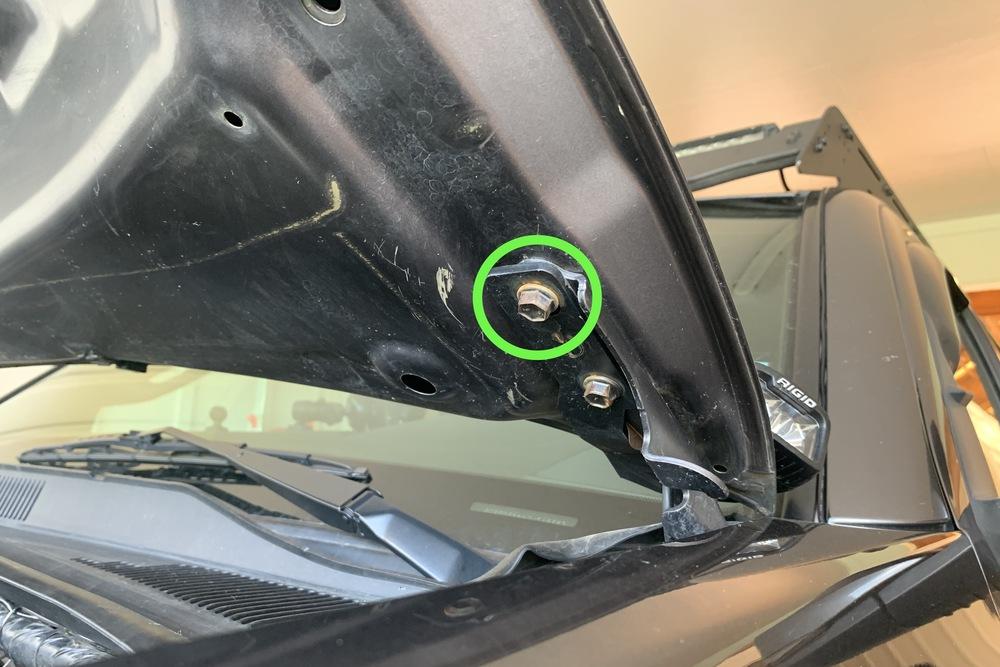Installing Brackets for Hood Shocks on 3rd Gen Tacoma