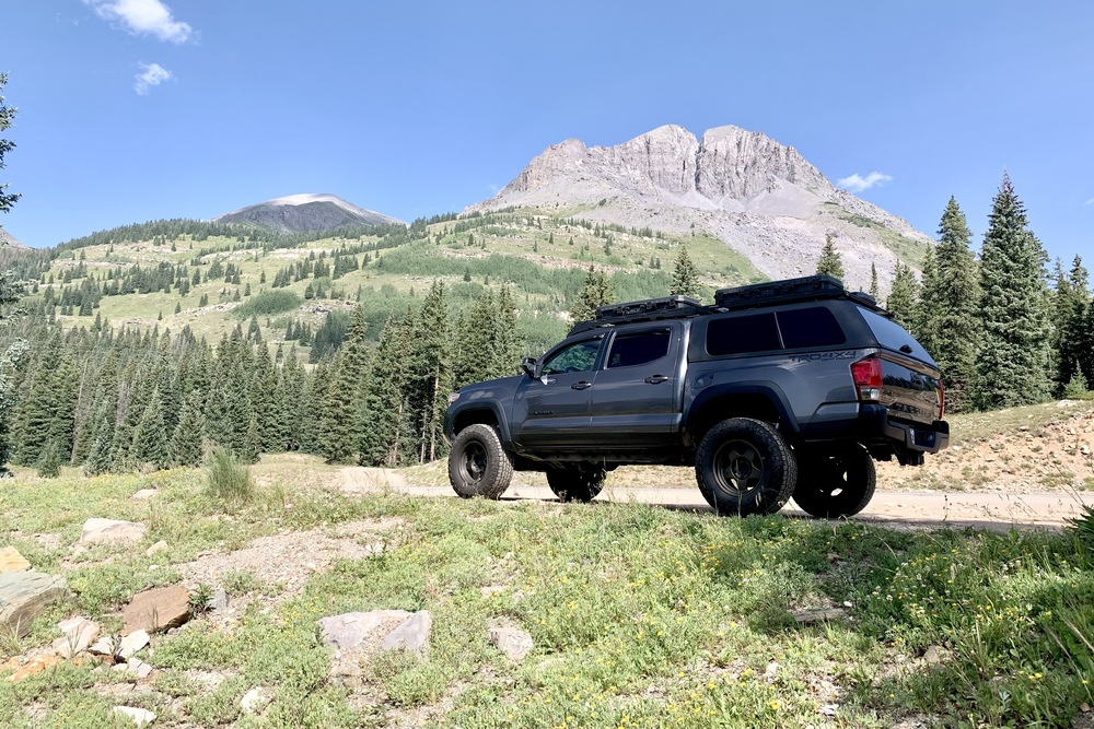 Lifted 3rd Gen Tacoma with 4WP Bed Stiffeners for 2005+ Toyota Tacoma