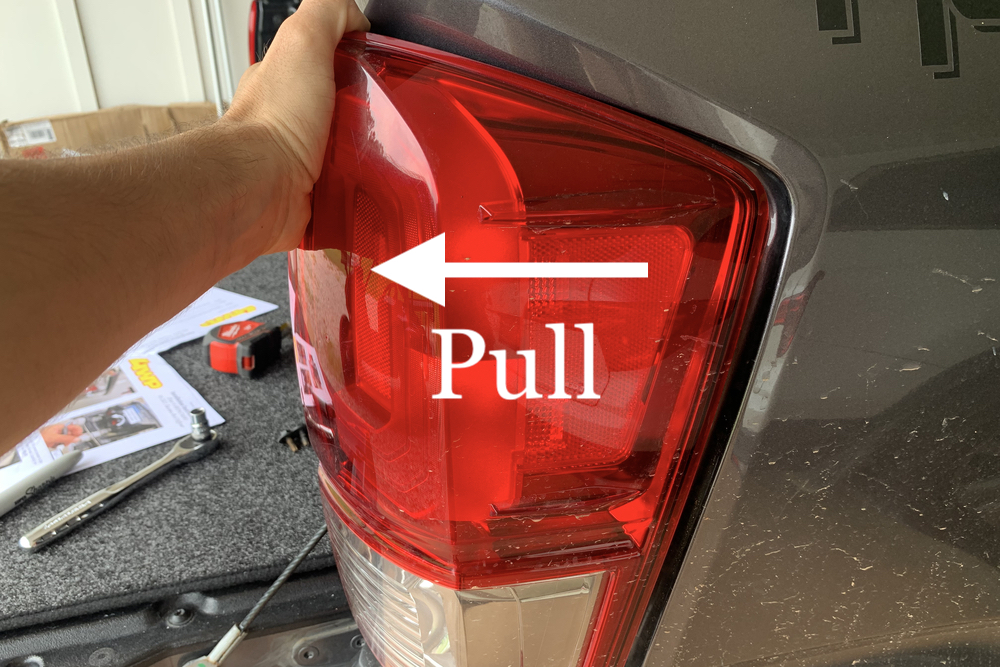 How to Remove Taillight on 3rd Gen Tacoma