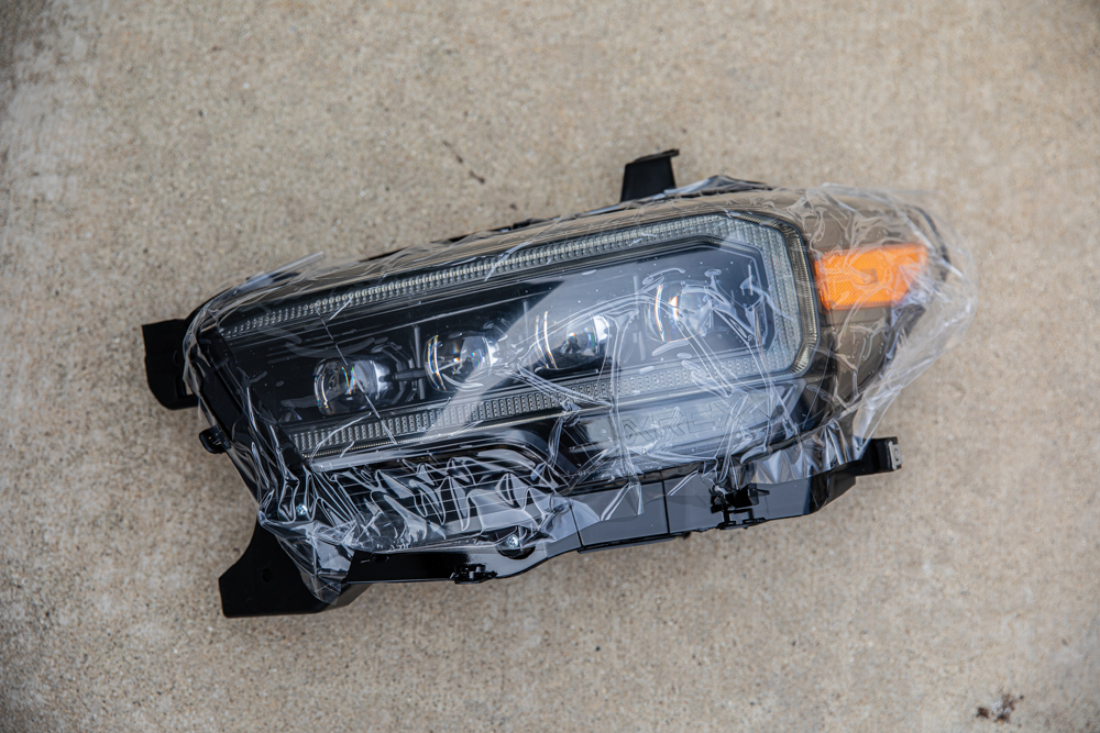 Detailed Step-By-Step Installation Guide for AlphaRex Headlights for Toyota Tacoma
