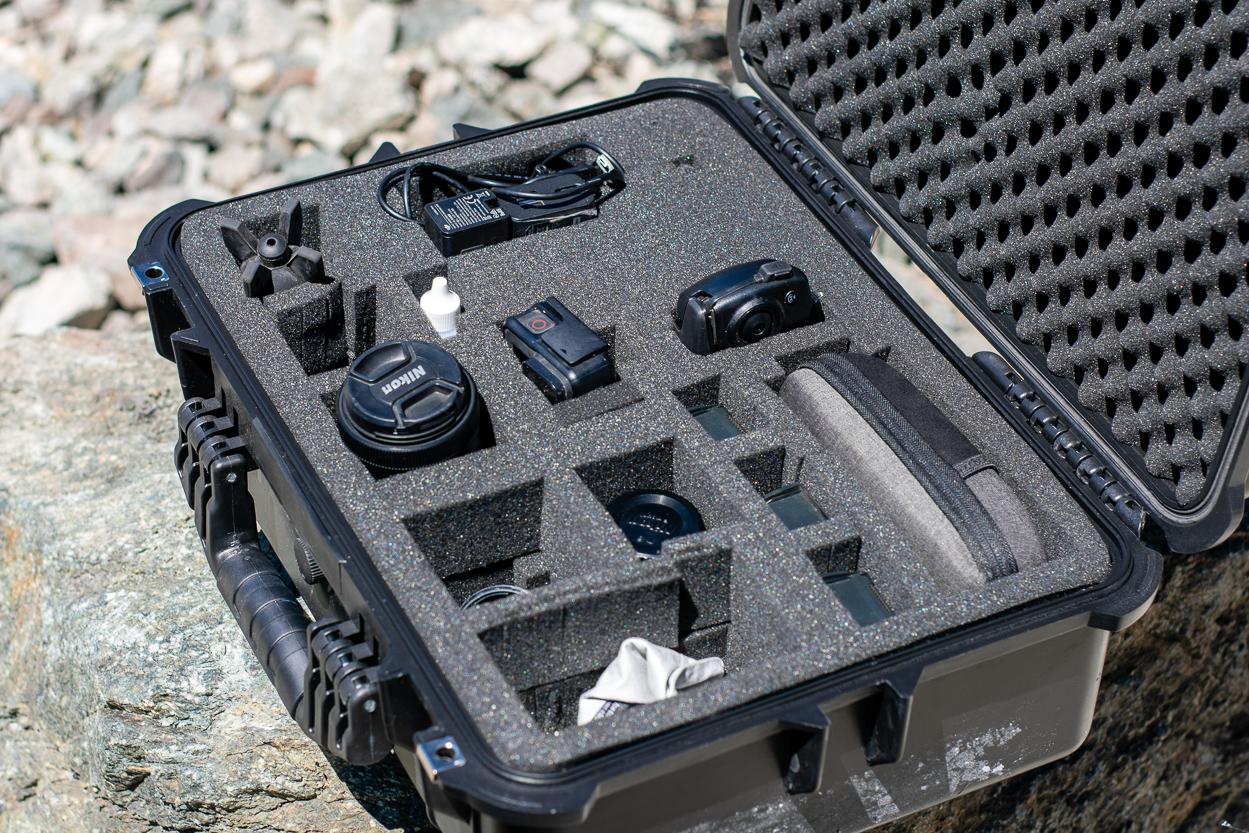 Nikon Camera Gear & DJI Mavic Air in Apache 4800 Budget Storage Case
