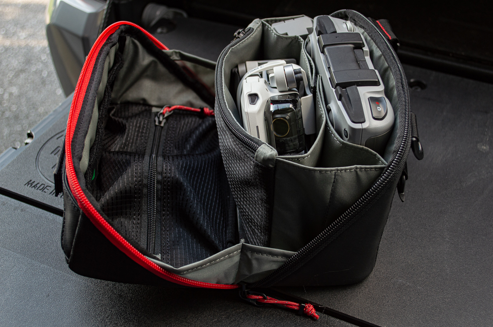 Tenkile Tech Pouch - Small Drone Carrying Case from Step 22