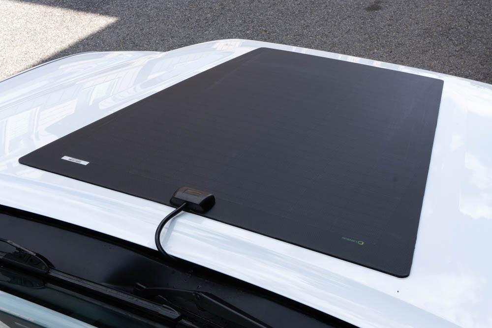 Lensun Solar Energy Hood Mounted Solar Panel for 3rd Gen Toyota Tacoma