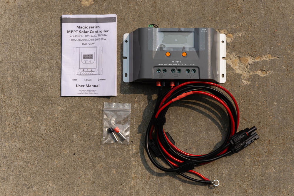 Magic Series Solar Charge Controller for Lensun Hood Stamp Solar Panel Kit