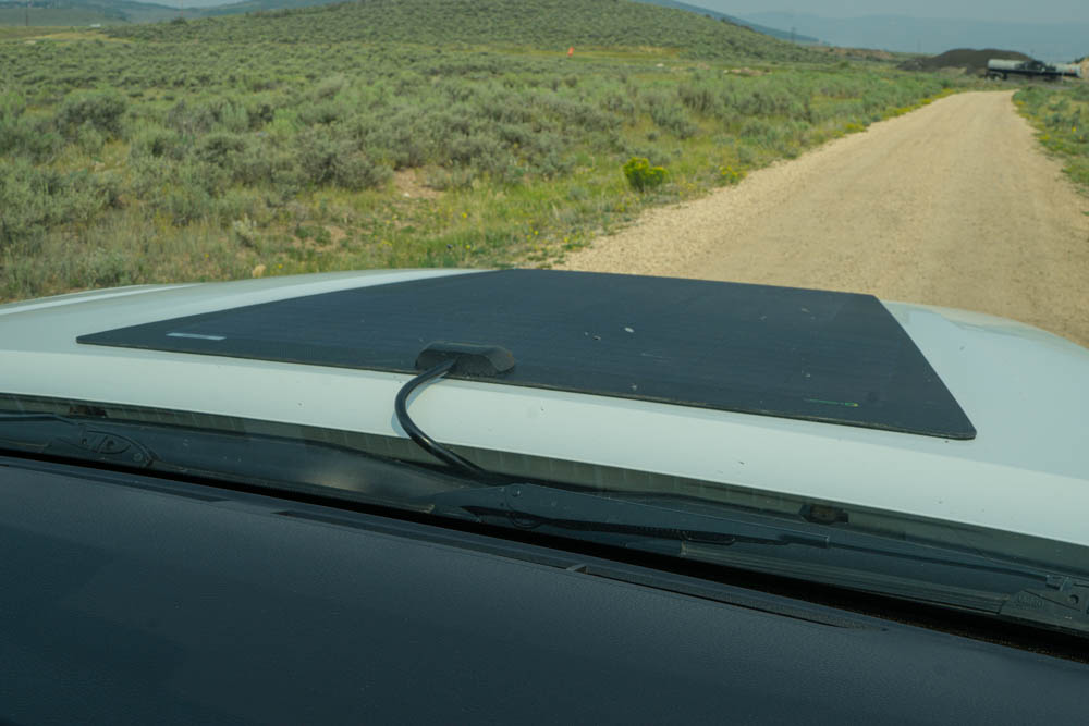 Auxiliary Solar Panel for Off-Road & Overland Travel