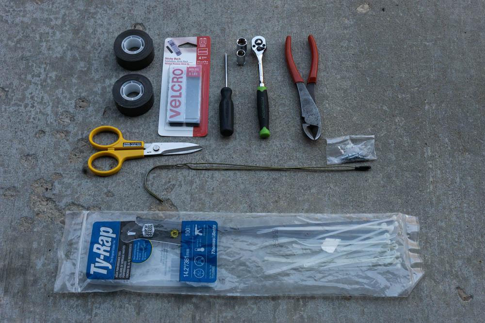 Tool & Materials - Lensun Solar Hood Mounted Solar Panel for Tacoma