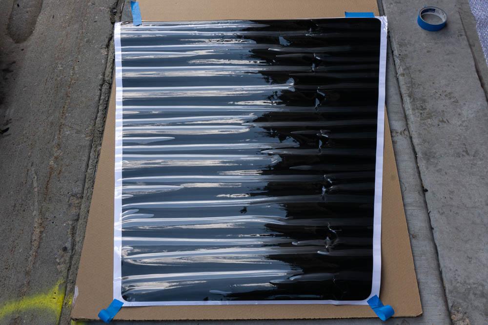 Installing Vinyl Wrap for Lensun Solar Energy Hood Mounted Solar Panel