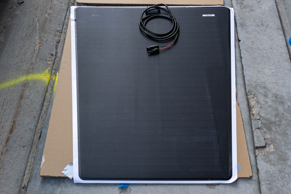 Lensun Solar Energy Hood Mounted Solar Panel for Overland & Off-Road