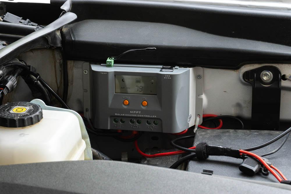 Solar Charge Controller for Lensun Solar Energy Hood Panel