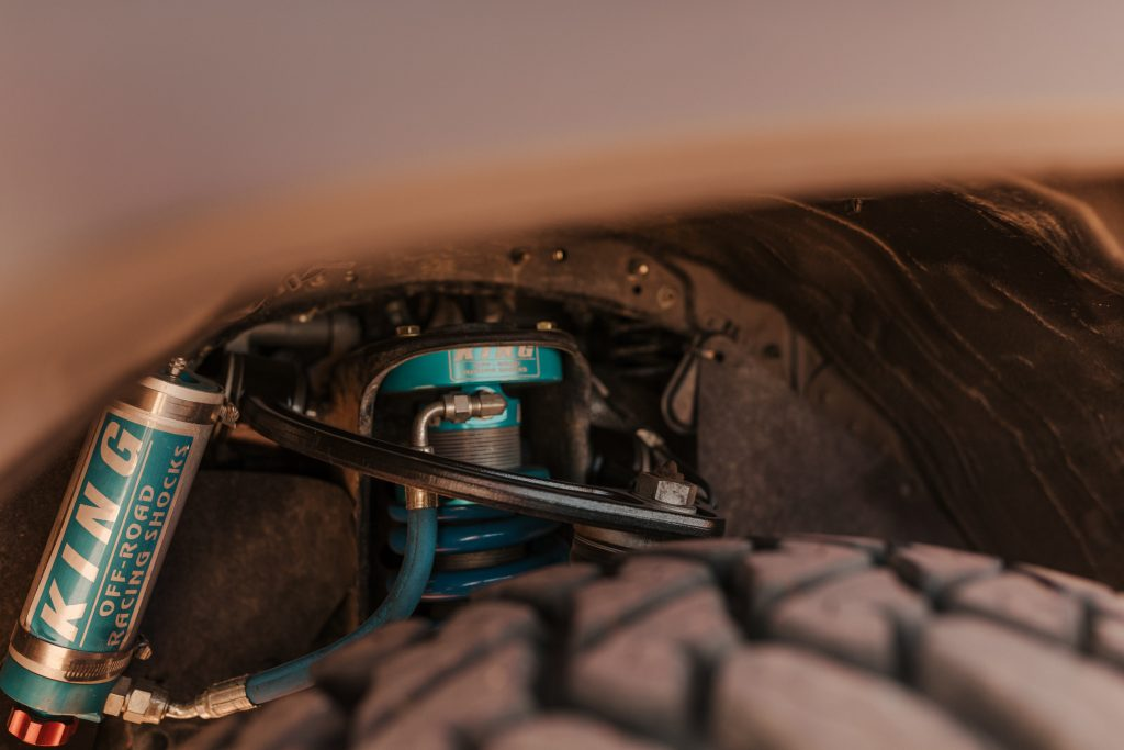 SPC UCA & 2.5 King Coilovers on 3rd Gen Toyota Tacoma