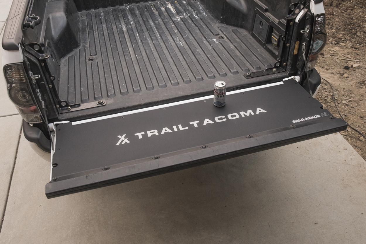 Flat Aluminum Tailgate Panel for Toyota Tacoma