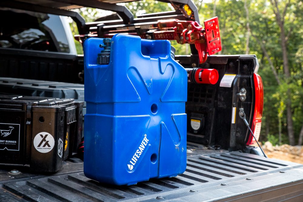 Large Water Filter & Water Storage for Camping, Traveling, Off-Road & Overland