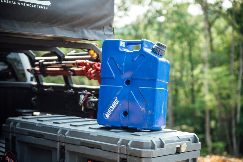 Lifesaver Jerrycan Pressurized Water Filtration System for Outdoor Travel & Emergency Preparedness