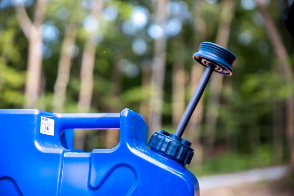 Pressurized, Portable Water Storage & Filtration for the Outdoors