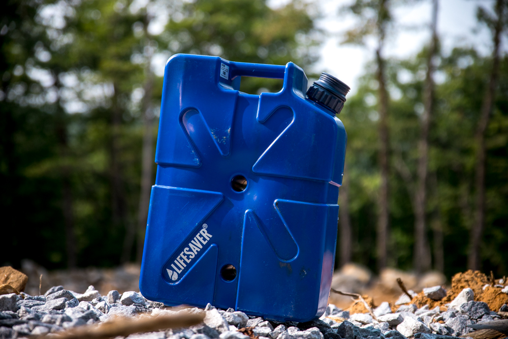Lifesaver Jerrycan Portable Water Filter/Purifier for Camping, Off-Road & Overland