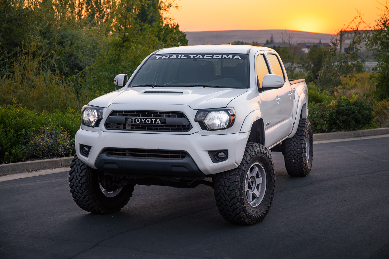 """Extended Brake Lines on Tacoma with 3"""" Lift Rear"""