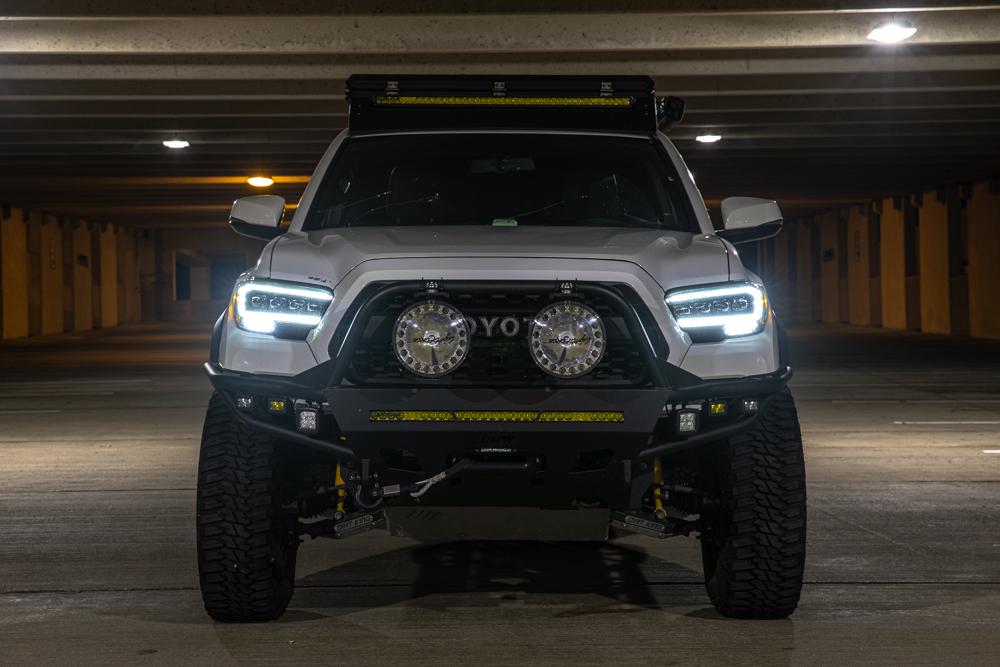 Daytime Running Lights (DRLs) on AlphaRex NOVA Series LED Projector Headlights for 3rd Gen Tacoma