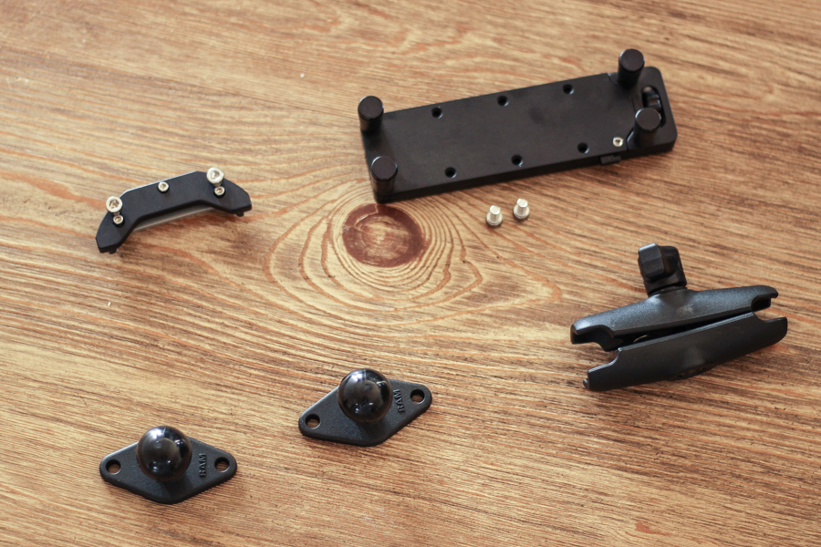 Hondo Garage Un-Holey Tacoma Dash Mount for Phone and Tablet and Perfect Squeeze Parts